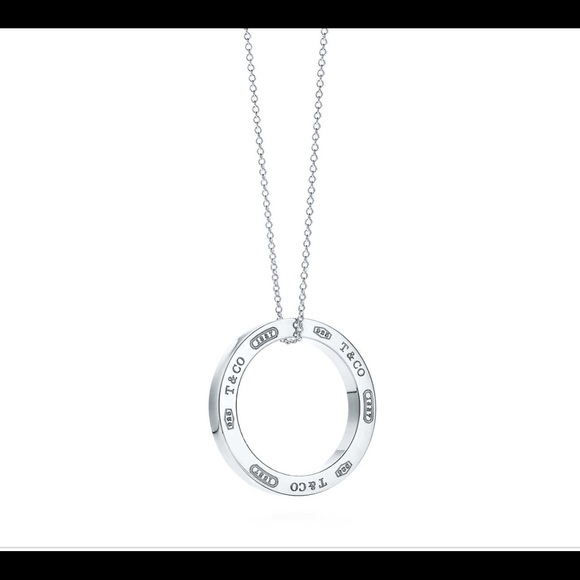 Tiffany 1837 circle pendant in sterling silver and Rubedo metal, medium Tiffany & Co.